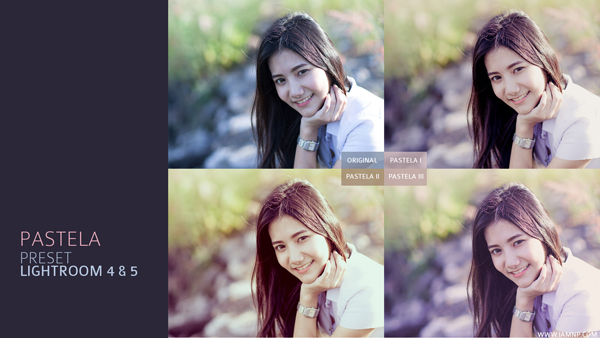 Preset Lightroom Pastela